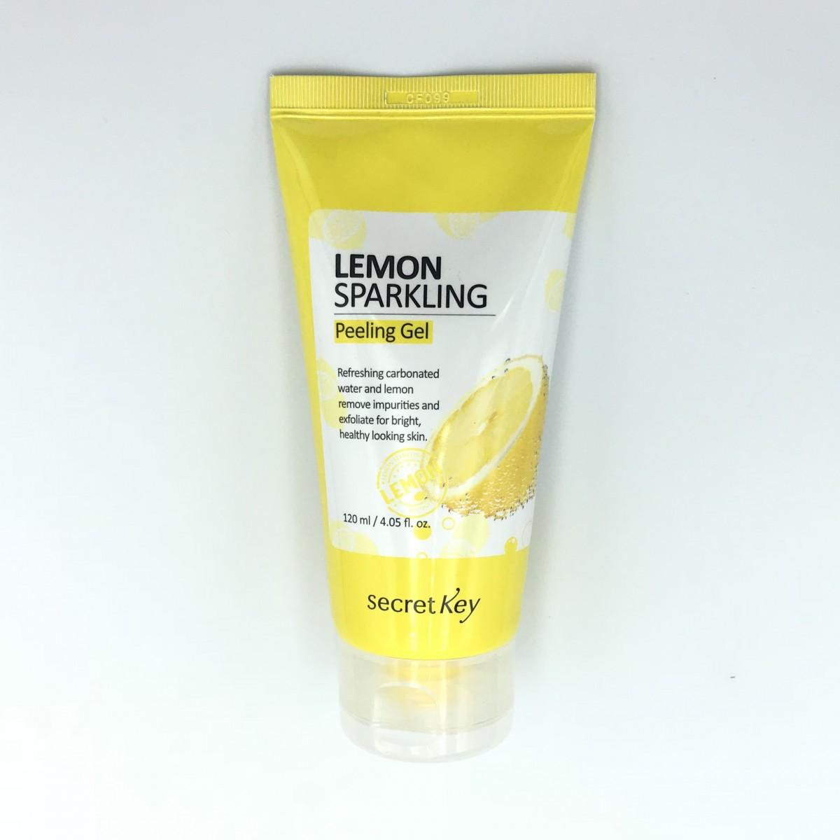 Пилинг-скатка с лимоном Secret Key Lemon Sparkling Peeling Gel - 120 мл
