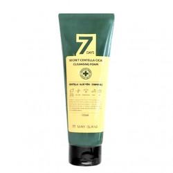 Очищающая пенка для чувствительной кожи лица MAY ISLAND 7 Days Secret Centella Cica Cleansing Foam - 150 мл