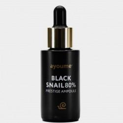 Купить оптом Ампульная улиточная сыворотка для лица Ayoume Black Snail Prestige Ampoule - 30 мл