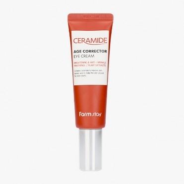 Крем для глаз с керамидами FARMSTAY CERAMIDE AGE CORRECTOR EYE CREAM - 50 мл