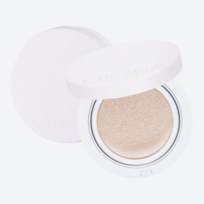 Тональное средство с солнцезащитным фактором + сменный блок Missha M Magic Cushion Moisture SPF50+ PA+++ & Refill 15 г+15 г