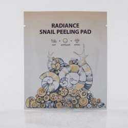 Купить оптом Салфетка для очищения и пилинга с улиточным фильтратом SeaNtree Radiance Snail Peeling Pad - 1 шт.