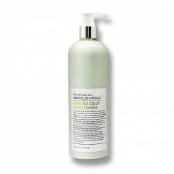 Пенка для умывания с зеленым чаем GRAYMELIN Crazy Foam Cleanser Green Tea - 500 мл