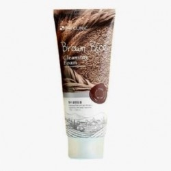 Пенка для умывания натуральная КОРИЧНЕВЫЙ РИС 3W CLINIC Brown Rice Foam Cleansing - 100мл