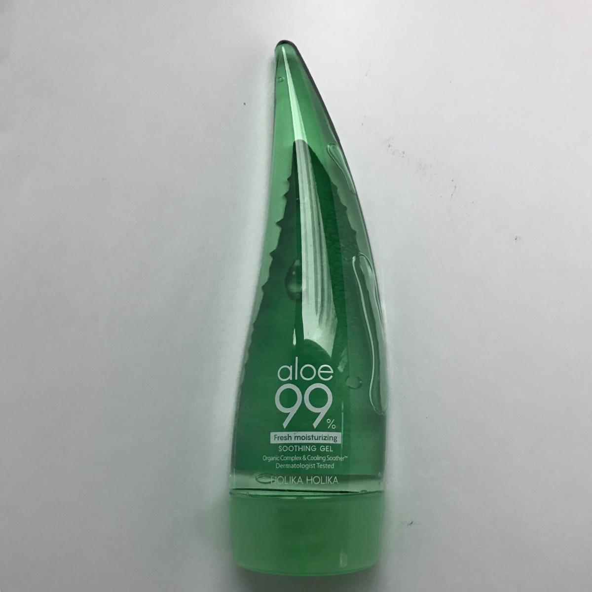 Гель с алоэ вера 99% успокаивающий Holika Holika Aloe 99% Fresh Soothing Gel 55Ml Ad - 55мл
