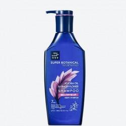 Шампунь з олією жожоба і квітками імбиру Mise en Scene SUPER BOTANICAL JOJOBA OIL & GINGER FLOWER SHAMPOO - 500 мл