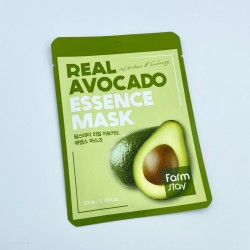 Тканинна маска для обличчя з авокадо FARMSTAY REAL AVOCADO ESSENCE MASK - 23 мл