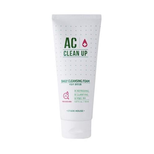 Пенка очищающая для проблемной кожи Etude House AC Clean Up Daily Acne Cleansing Foam - 150 мл