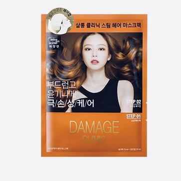 Термальная маска-шапочка для восстановления волос MISE EN SCENE Damage Clinic Repair Mask Pack - 15 мл