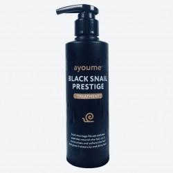 Улиточная маска-бальзам для защиты и укрепления волос AYOUME BLACK SNAIL PRESTIGE TREATMENT - 240 мл
