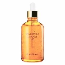 Сироватка для обличчя вітамінна SeaNtree SNT VITA CAPSULE AMPOULE 100