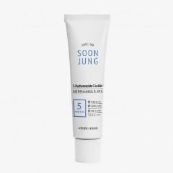 Крем-бальзам для чутливої шкіри ETUDE HOUSE SOON JUNG 5-PANTHENSOSIDE CICA BALM - 40 мл