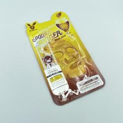 Тканинна пом'якшувальна  ліфтинг - маска з медом ELIZAVECCA HONEY DEEP POWER RINGER MASK PACK - 23 мл
