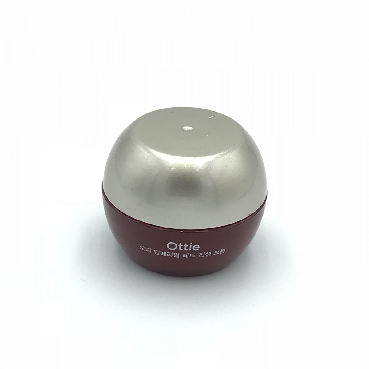 Мини-версия улиточного крема с женьшенем Ottie Imperial Red Ginseng Snail Cream - 10 мл