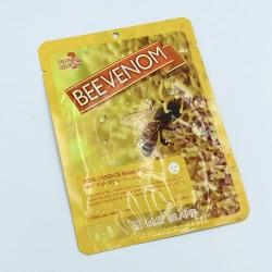 Тканевая маска с пчелиным ядом May Island Real Essence Bee Venom Mask Pack - 25 г