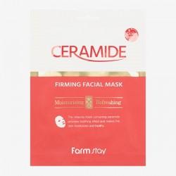 Тканинна маска для обличчя з керамідами FARMSTAY CERAMIDE FIRMING FACIAL MASK - 27 мл