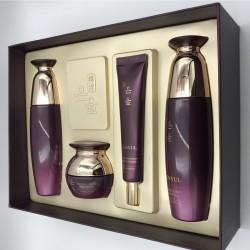 Придбати оптом Набор антивозрастной премиальной косметики с красным женьшенем Eunyul Premium Set - 4 предмета