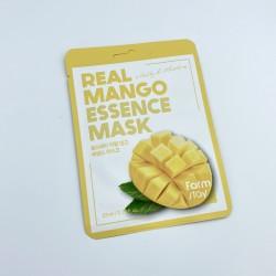 Тканинна маска для обличчя з манго FARMSTAY REAL MANGO ESSENCE MASK - 23 мл