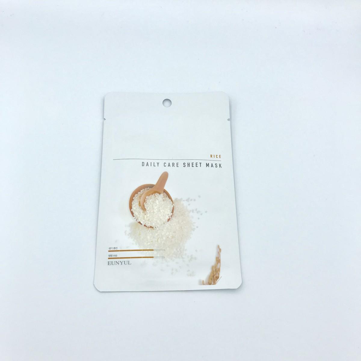 Тканевая маска с рисовым экстрактом Eunyul Daily Care Mask Sheet Rice - 22 г
