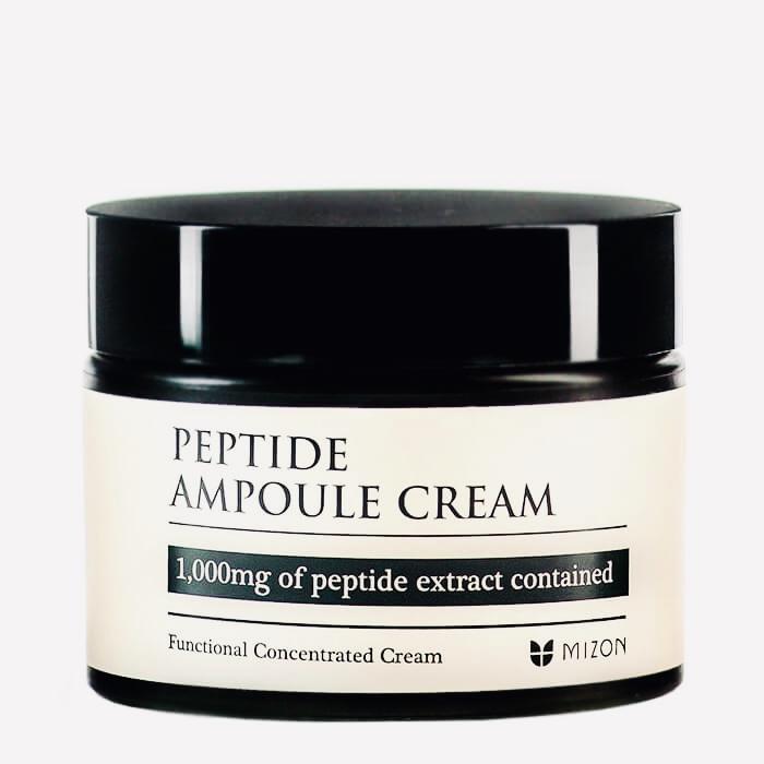 Крем с растительными пептидами для лица Mizon Peptide Ampoule Cream - 50 мл
