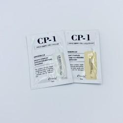 Купить оптом Безсульфатный протеиновый шампунь + кондиционер CP‐1 BRIGHT COMPLEX INTENSE NOURISHING - пробник