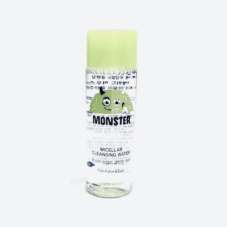 Мицеллярная вода для очищения лица мини-версия Etude House Monster Micellar Cleansing Water - 25 мл