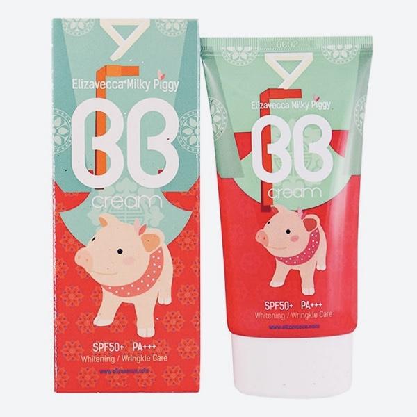 BB-крем с влажным финишем ELIZAVECCA Milky Piggy BB Cream SPF 50 +++ - 50 мл