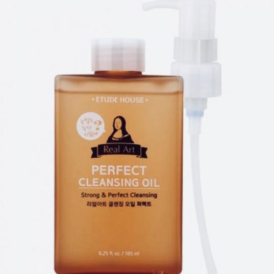 Гидрофильное масло для чувствительной кожи ETUDE HOUSE Real Art Cleansing Oil Perfect - 185 мл