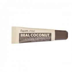 Бальзам для губ с кокосом FARMSTAY REAL COCONUT ESSENTIAL LIP BALM - 10 мл