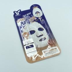 Тканинна маска для жирної і комби - шкіри ELIZAVECCA EGF DEEP POWER RINGER MASK PACK - 23 мл