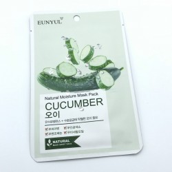 Увлажняющая тканевая маска с огурцом EUNYUL Natural Moisture Mask Pack-Cucumber - 25 мл