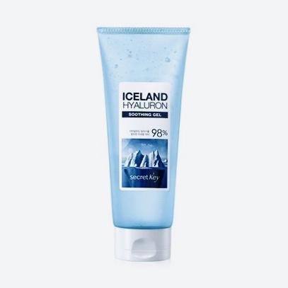 Экстраувлажняющий гель для тела и лица Secret Key Iceland Hyaluron Soothing Gel 98% - 200 мл