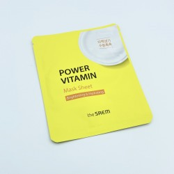 Придбати оптом Тканевая маска против пигментации с витаминами THE SAEM Power Vitamin Mask Sheet - 28 г