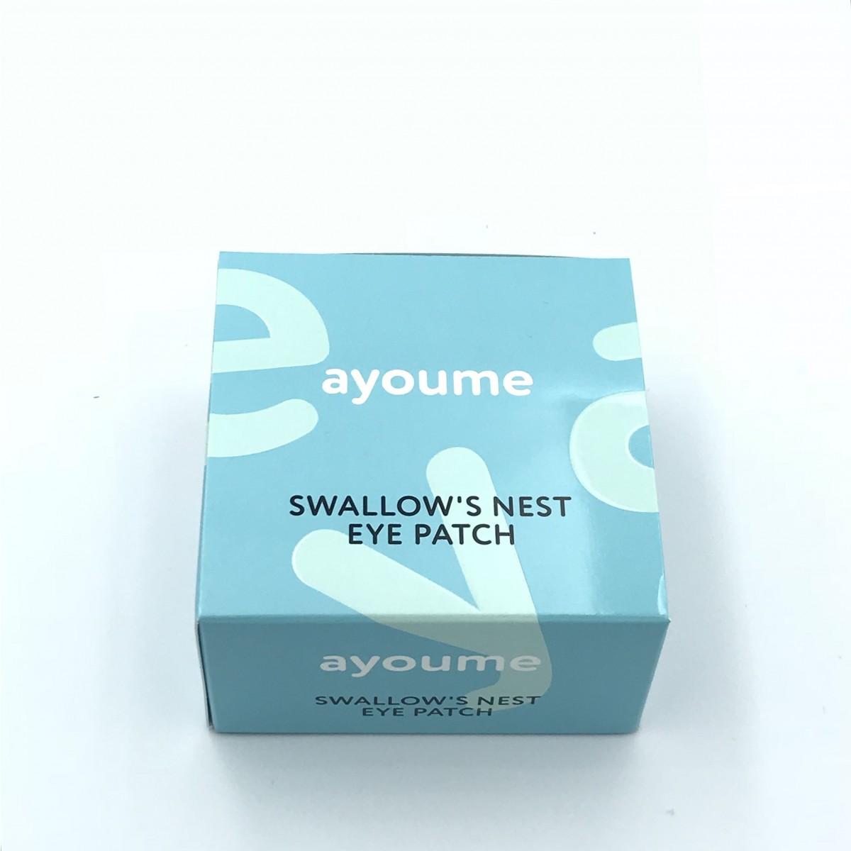 Патчи для глаз с ласточкиным гнездом Ayoume SWALLOW'S NEST EYE PATCH - 60 шт.