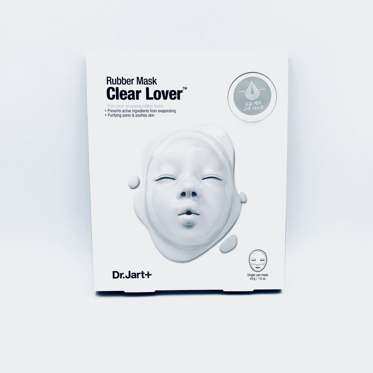 Альгинатная маска для очищения пор Dr.Jart Rubber Mask Clear Lover - 43 г+5 мл