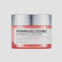 Купить оптом Витаминный крем для восстановления кожи MISSHA VITAMIN B12 DOUBLE HYDROP CREAM - 50 мл