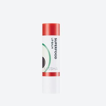 Бальзам для питания кожи губ с авокадо MISSHA SUPERFOOD AVOCADO LIP BALM - 3,2 г