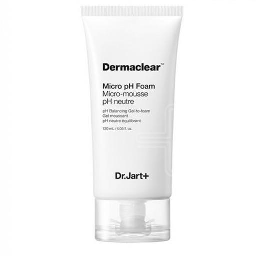 Очищающая пенка для чувствительной кожи DR. JART Micro Dermaclear pH Foam - 120 мл