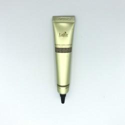 Ночная несмываемая маска-сыворотка для поврежденных волос LADOR Keratin Power Fill up sleeping Clinic Ample - 20 мл