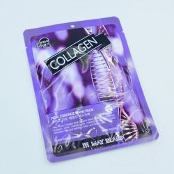 Тканевая маска с коллагеном May Island Real Essence Collagen Mask Pack - 25 г