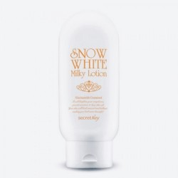 Лосьйон для тіла та обличчя з ефектом відбілювання Sеcret Key Snow White Milky Lotion - 120 мл