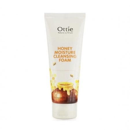 Пенка для умывания с медом Ottie Honey Moisture Cleansing Foam - 150 мл