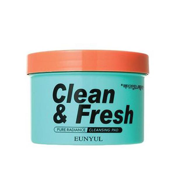 Подушечки для демакияжа Eunyul Clean & Fresh - Pure Radiance Cleansing Pad - 70 шт.