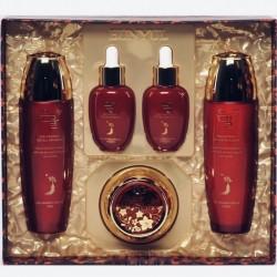 Придбати оптом Набір з 5 засобів по догляду за обличчям з червоним женьшенем Eunyul Red Ginseng Special 5 Set