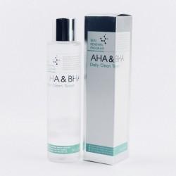 Тонер-пілінг з кислотами Mizon AHA & BHA Daily Clean Toner - 150 мл