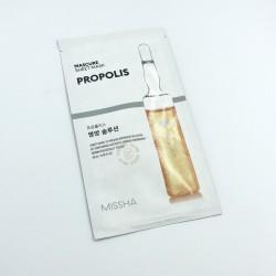 Купить оптом Тканевая маска для лица с прополисом MISSHA MASCURE NUTRITION SOLUTION SHEET MASK PROPOLIS - 27 мл