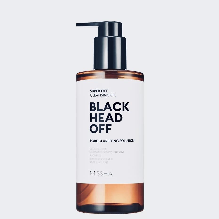 Гидрофильное масло для проблемной кожи MISSHA Super Off Cleansing Oil Blackhead Off - 305 мл