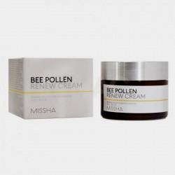 Крем для лица обновляющий на основе пчелиной пыльцы MISSHA BEE POLLEN RENEW CREAM - 50 мл