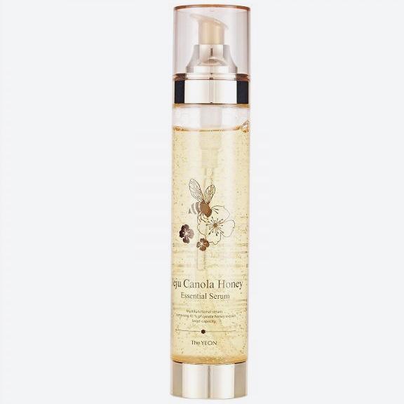 Многофункциональная сыворотка на основе рапсового меда Jeju Canola Honey Essential Serum The YEON - 200 мл