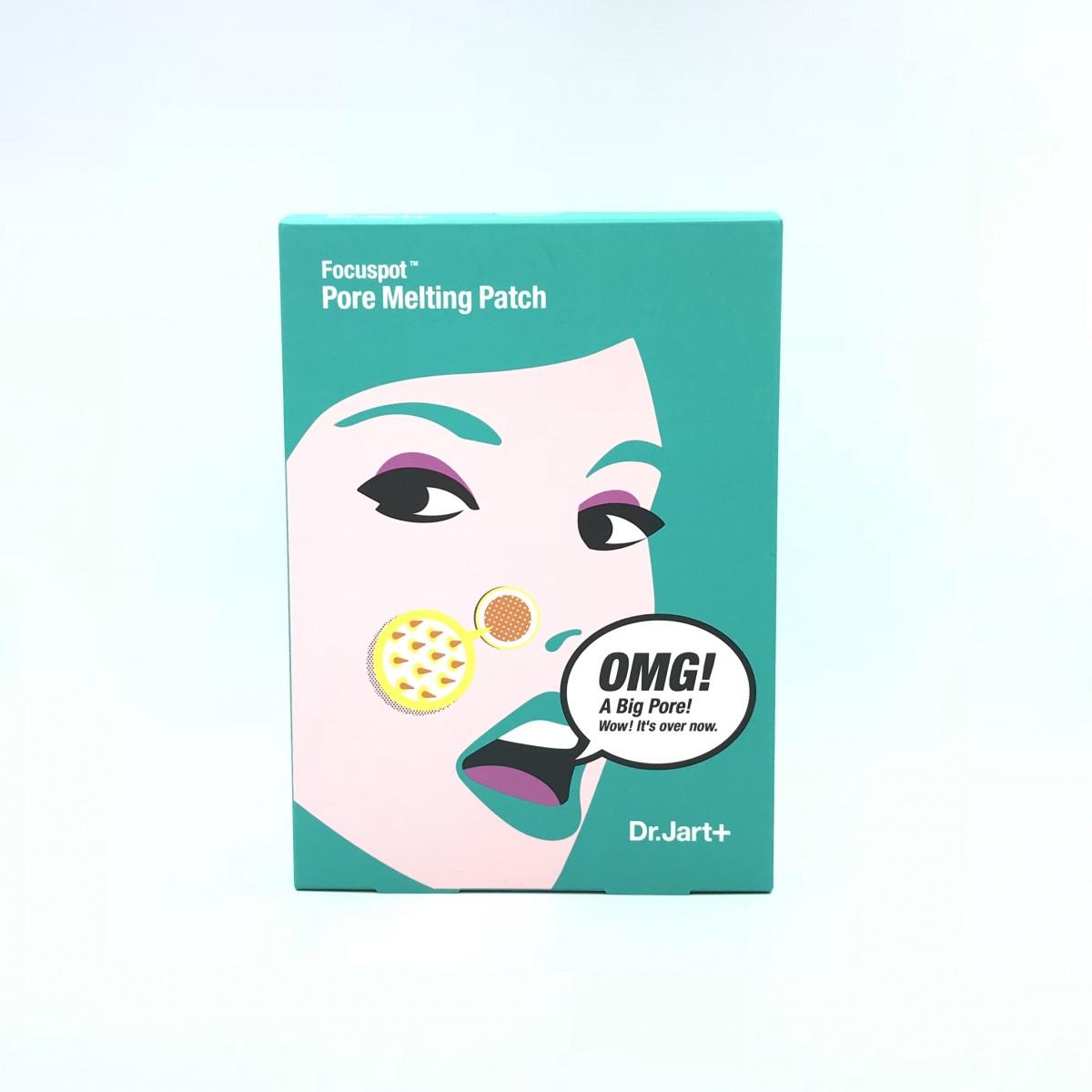 Набор патчей и сывороток для чистки и сужения пор Dr.Jart+ Focuspot Pore Melting Patch - 10×3 г+5×5 г